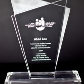 Community Safety Leader Award